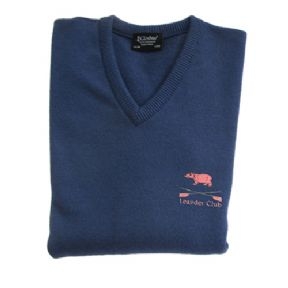 Denim Lambswool Jumper